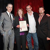 Picture Shows :BEST ENSEMBLE, sponsored by Equity:.A Christmas Carol, National Theatre of Scotland presented by Alan Cumming..The 10th Annual Critics? Awards for Theatre in Scotland (CATS), Sunday 10th June at The Tron Theatre, Glasgow..Picture by Drew Farrell Tel : 07721-735041..NOTES TO EDITORS:.For further information on the CATS visit www.criticsawards.theatrescotland.com.Alan Cumming who is starring in Macbeth, the National Theatre of Scotland?s forthcoming play directed by John Tiffany and Andrew Goldberg at Tramway, Glasgow from Wednesday 13th June - Saturday 30th June, 2012, presents the CATS Awards. .? Over 200 productions were considered for nominations.? 123 were eligible for Best New Play.? 36 of those productions were created for children and young people.? 23 shows have reached the final nominations stage.www.criticsawards.theatrescotland.com.For further press information or images please contact:.Wendy Grannon Tel: +44 (0) 07916 137 632 .E: wendy@wendygrannon.co.uk...