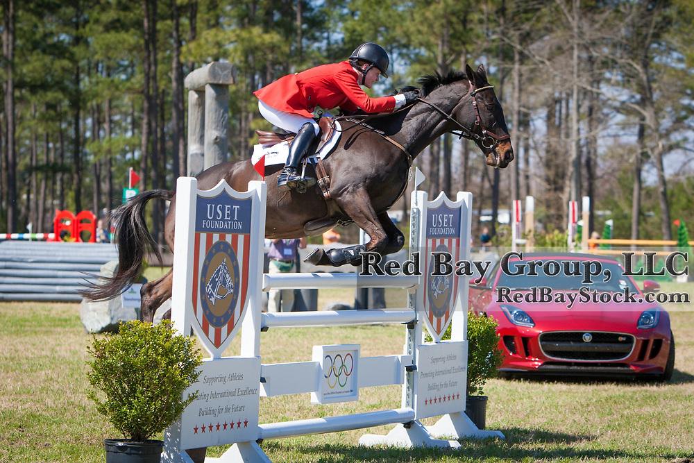 Kim Severson (USA) and Fernhill Fearless at the Carolina International in Raeford, North Carolina.