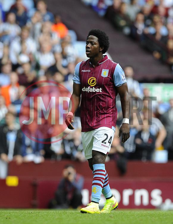 Aston Villa's Carlos Sanchez - Photo mandatory by-line: Joe Meredith/JMP - Mobile: 07966 386802 23/08/2014 - SPORT - FOOTBALL - Birmingham - Villa Park - Aston Villa v Newcastle United - Barclays Premier League