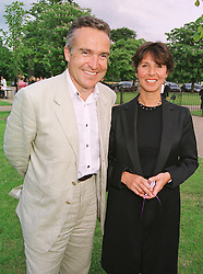 MR & MRS STEPHEN BAYLEY he is the design consultant who was Creative Director of The Dome, at a party in London on 7th July 1999.MUC 24