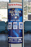 LOS ANGELES, CA - MAY 27:  All-Star Game player ballots fill a ballot box during the game against the Houston Astros on Sunday, May 27, 2012 at Dodger Stadium in Los Angeles, California. The Dodgers won the game 5-1. (Photo by Paul Spinelli/MLB Photos via Getty Images)