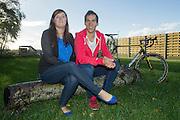 BELGIUM / WOESTEN / CYCLING / WIELRENNEN / CYCLISME / CYCLOCROSS / CYCLO-CROSS / VELDRIJDEN / JAN DENUWELAERE STOPS HIS CYCLING CAREER / HIS WIFE DEBBIE VANNESTE /