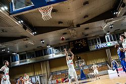 Bojan Radulovic of KK Petrol Olimpija during basketball match between Basketball - KK Petrol Olimpija Ljubljana and KK Sixt Primorska in Round #7 of Liga Nova KBM za prvaka 2018/19, on April 11th, 2019 in Hala Tivoli, Slovenia Photo by Matic Ritonja / Sportida