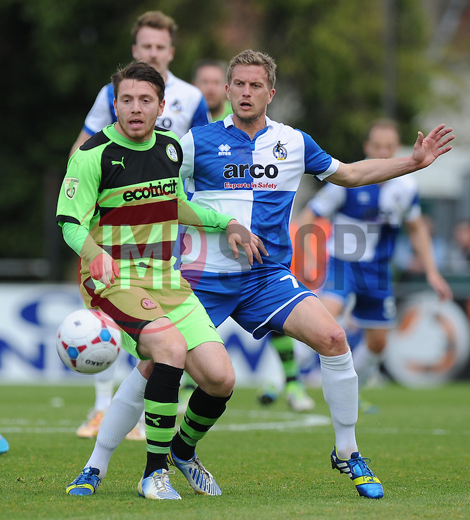 Bristol Rovers' Lee Mansell in action. - Photo mandatory by-line: Alex James/JMP - Mobile: 07966 386802 - 03/05/2015 - SPORT - Football - Bristol - Memorial Stadium - Bristol Rovers v Forest Green Rovers - Vanarama Football Conference