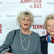 NLD/Amsterdam/20150525 - Premiere Schneider & Bax, actrice Petra Laseur en ..............