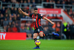 BOURNEMOUTH, ENGLAND - Saturday, December 8, 2018: AFC Bournemouth's Andrew Surman during the FA Premier League match between AFC Bournemouth and Liverpool FC at the Vitality Stadium. (Pic by David Rawcliffe/Propaganda)