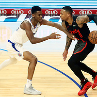 12-17 PORTLAND TRAIL BLAZERS AT LA CLIPPERS