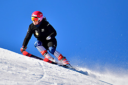 Free skiing and training at the WPAS_2019 Alpine Skiing World Cup, La Molina, Spain