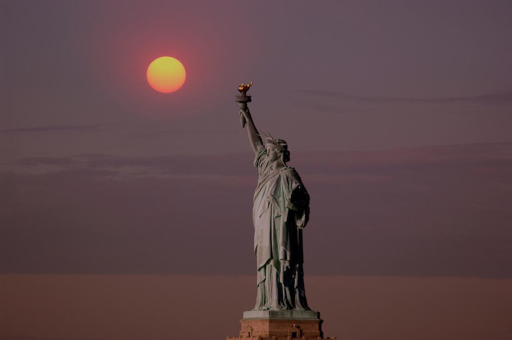Statue of Liberty, New York, New York, United States of America