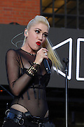 June 2, 2016 - New York City, NY, USA - <br /> <br /> Singer Gwen Stefani performs at Samsung's celebration of A Galaxy of Possibility and unveiling of Gear Fit2 in the Meatpacking District <br /> ©Exclusivepix Media