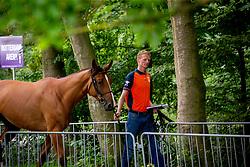 Schuttert Frank, NED, Lyonel D<br /> European Championship Jumpîng<br /> Rotterdam 2019<br /> © Dirk Caremans<br /> Schuttert Frank, NED, Lyonel D