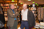 CHRISTOPHER SILVESTER; HARRY MOUNT, Alba Arikha  book launch for 'Soon' , Daunt's Holland Park.. London. 17 September 2013.