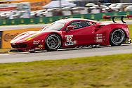 #62 Risi Competizione Ferrari 488 GTE: Pierre Kaffer, Giancarlo Fisichella, Toni Vilander