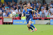 Jake Reeves midfielder for AFC Wimbledon (8) in action during Sky Bet League 2 match between AFC Wimbledon and Newport County at the Cherry Red Records Stadium, Kingston, England on 7 May 2016. Photo by Stuart Butcher.