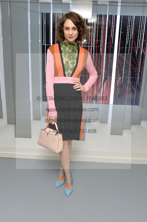 TUPPENCE MIDDLETON at the Louis Vuitton Series 3 VIP Launch held at 180 Strand, London on 20th September 2015.