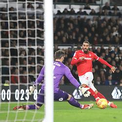 Derby v Nottingham Forest, Championship, 17 December 2018