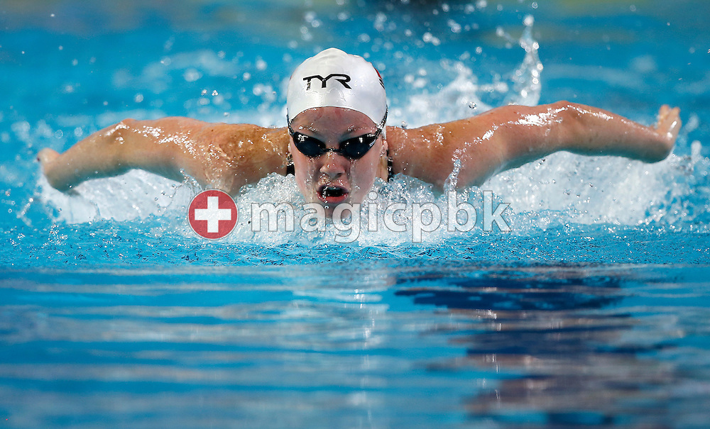 Danielle VILLARS of Switzerland competes in the women's 200m Butterfly Heats during the 11th Fina World Short Course Swimming Championships held at the Sinan Erdem Arena in Istanbul, Turkey, Wednesday, Dec. 12, 2012. (Photo by Patrick B. Kraemer / MAGICPBK)