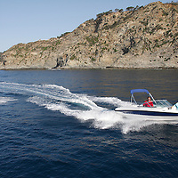 BAYLINER GT. PORQUEROLLES ISLAND. SOUTH OF FRANCE.COPYRIGHT : THIERRY SERAY/BAYLINER