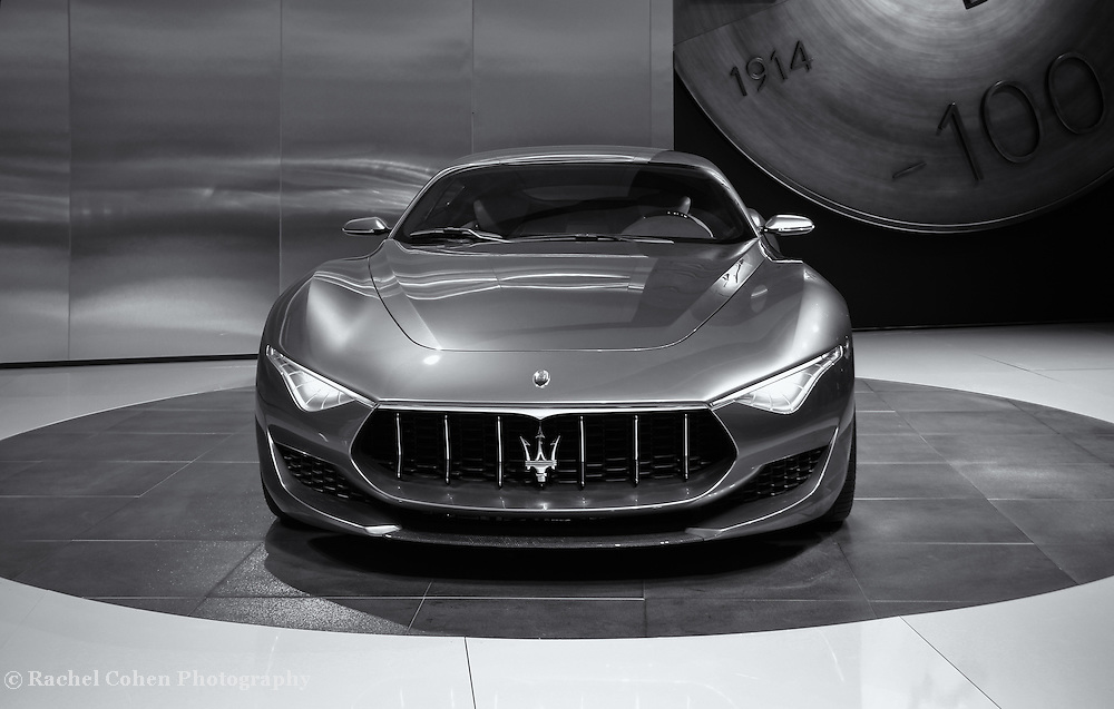 &quot;Maserati Alfieri Front View&quot; mono<br /> <br /> Front view of the beautiful Maserati Alfieri!