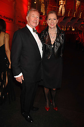 SIR TERENCE & LADY CONRAN at a dinner held at the Natural History Museum to celebrate the re-opening of their store at 175-177 New Bond Street, London on 17th October 2007.<br />