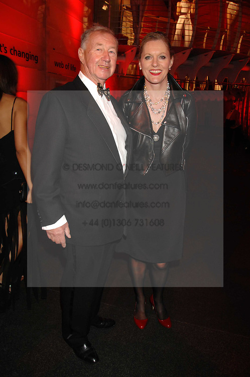 SIR TERENCE & LADY CONRAN at a dinner held at the Natural History Museum to celebrate the re-opening of their store at 175-177 New Bond Street, London on 17th October 2007.<br /><br />NON EXCLUSIVE - WORLD RIGHTS