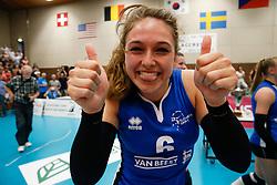 20180509 NED: Eredivisie Coolen Alterno - Sliedrecht Sport, Apeldoorn<br />Fleur Savelkoel (6) of Sliedrecht Sport <br />©2018-FotoHoogendoorn.nl