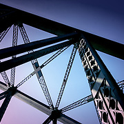 Bridge trusses, Sydney, Australia (January 2006)