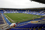 Football ground during the Sky Bet Championship match between Birmingham City and Fulham at St Andrews, Birmingham, England on 19 March 2016. Photo by Alan Franklin.