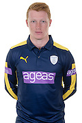 Hampshire left handed batsman Tom Alsop in the 2016 Royal London One Day Cup Shirt. Hampshire CCC Headshots 2016 at the Ageas Bowl, Southampton, United Kingdom on 7 April 2016. Photo by David Vokes.