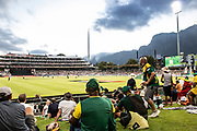 General shots of the ground and the supporters during the One Day International match between South Africa and England at PPC Newlands, Capetown, South Africa on 4 February 2020.