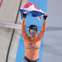 28-02-2018: Wielrennen: WK Baan: Apeldoorn<br />Kirsten Wild pakt de wereldtitel op de scratch bij de vrouwen