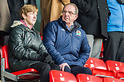 \bf during the EFL Sky Bet League 1 match between Fleetwood Town and Blackburn Rovers at the Highbury Stadium, Fleetwood, England on 20 January 2018. Photo by Michal Karpiczenko.