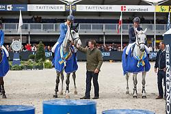Ahlmann Christian (GER) - Hui Buh<br /> Final 6 years<br /> FEI World Breeding Jumping Championships for Young Horses - Lanaken 2014<br /> © Dirk Caremans