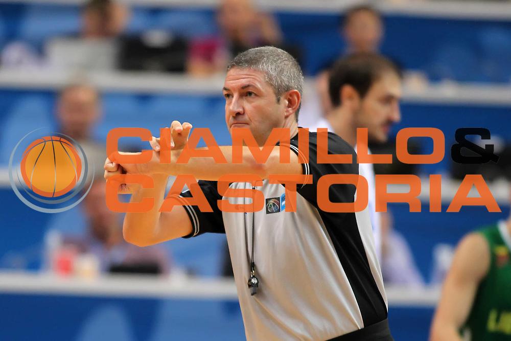 DESCRIZIONE : Vilnius Lithuania Lituania Eurobasket Men 2011 Second Round Serbia Lituania Serbia Lithuania<br /> GIOCATORE : Luigi Lamonica<br /> SQUADRA : <br /> EVENTO : Eurobasket Men 2011<br /> GARA : Serbia Lituania Serbia Lithuania<br /> DATA : 07/09/2011<br /> CATEGORIA : arbitro referees<br /> SPORT : Pallacanestro <br /> AUTORE : Agenzia Ciamillo-Castoria/ElioCastoria<br /> Galleria : Eurobasket Men 2011<br /> Fotonotizia : Vilnius Lithuania Lituania Eurobasket Men 2011 Second Round Serbia Lituania Serbia Lithuania<br /> Predefinita :