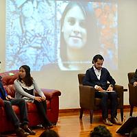 """Toluca, México (Febrero 16, 2018).- En la Escuela Judicial del Estado de México se llevó a  cabo el Tercer Foro Toluca 2030, con la temática """"Socieda+Gobierno=Desarrollo Sostenible"""".  Agencia MVT / Crisanta Espinosa."""