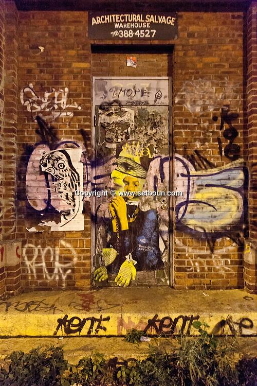 New York Lower east side  , Mural Art / New York Art mural, Graffitis,