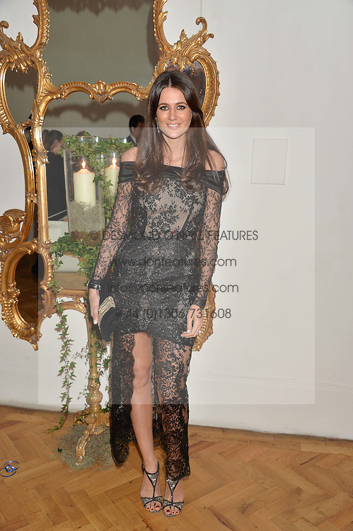 KIM JOHNSON at the Sugarplum Dinner in aid Sugarplum Children a charity supporting children with type 1 diabetes and raising funds for JDRF, the world's leading type 1 diabetes research charity held at One Marylebone, London on 18th November 2015.