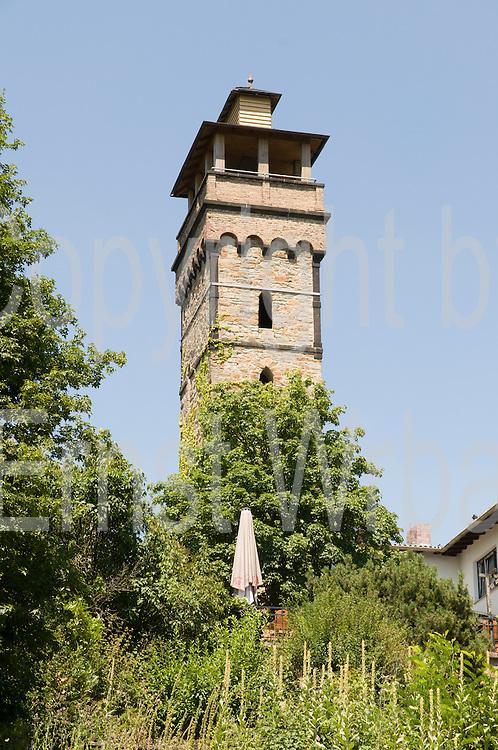 Aussichtsturm, Gasthaus Kellerskopf, Wiesbaden, Taunus, Hessen, Deutschland | Restaurant Kellerskopf, Wiesbaden, Taunus, Hesse, Germany