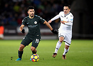 Swansea City v Manchester City - 13 Dec 2017