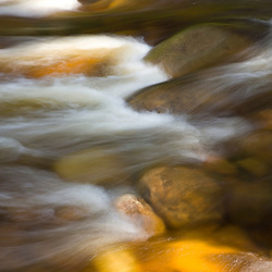 The Swift River in Albany, New Hampshire.  White Mountain National Forest.