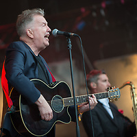 Tom Robinson in concert at Rewind Scotland, Scone Place, Perth, Scotland
