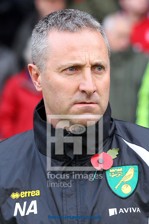 Norwich Manager Neil Adams before the Sky Bet Championship match at the City Ground, Nottingham<br /> Picture by Paul Chesterton/Focus Images Ltd +44 7904 640267<br /> 08/11/2014