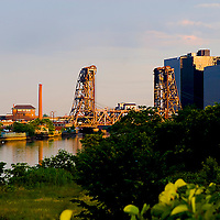 Industrial Newark NJ , landscape .