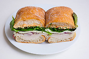 Roasted Chicken Sandwich from Flatbush Food Coop ($7.99) - WFH - chest cold