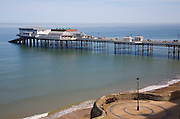 The pier at Cromer with the Pavilion theatre, Norfolk, England