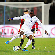 Jozy Altidore  during the Semi Final soccer match of the 2009 Confederations Cup between Spain and the USA played at the Freestate Stadium,Bloemfontein,South Africa on 24 June 2009.  Photo: Gerhard Steenkamp/Superimage Media.
