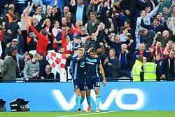 Goal, Christian Stuani of Middlesbrough scores, West Ham United 0-1 Middlesbrough - Mandatory by-line: Jason Brown/JMP - 01/10/2016 - FOOTBALL - London Stadium - London, England - West Ham United v Middlesbrough - Premier League