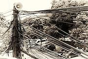 power lines Hanoi