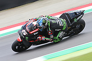 #5 Johann Zarco, French: Monster Yamaha Tech 3 during Friday Practice at the MotoGP Gran Premio d'Italia Oakley at Autodromo del Mugello Circuit, Senni-San Carlo, Italy on 1 June 2018. Picture by Graham Holt.