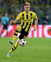 FUSSBALL  CHAMPIONS LEAGUE  HALBFINALE  HINSPIEL  2012/2013      Borussia Dortmund - Real Madrid              24.04.2013 Marco Reus (Borussia Dortmund) Einzelaktion am Ball